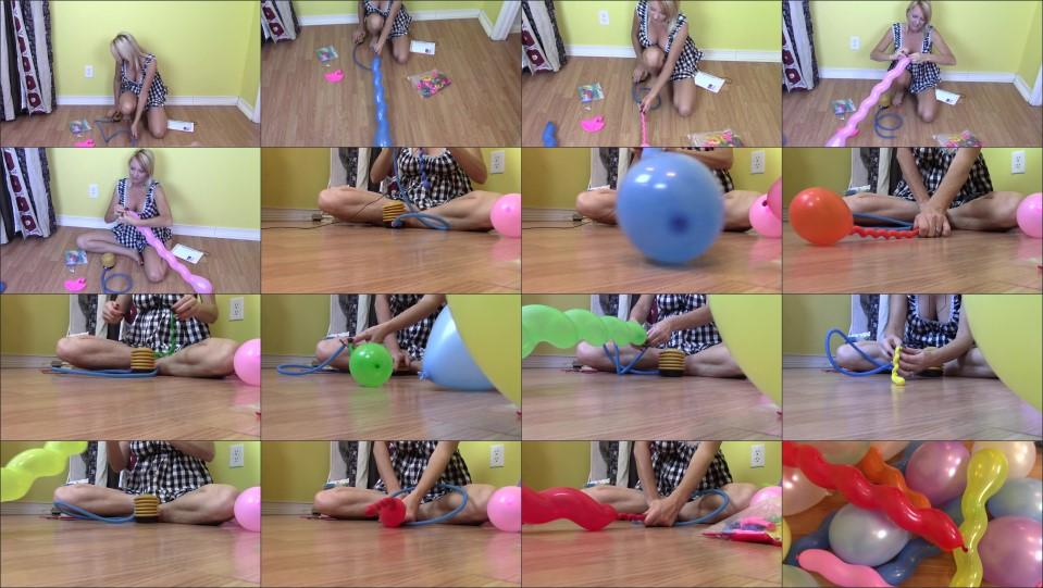 Buddahsplayground Inflating Balloons
