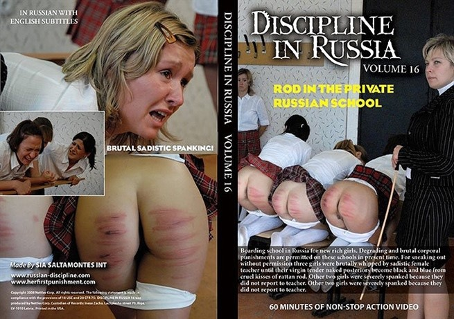 [SD] Discipline In Russia Volume6- The Rod In A Private Russian Sch--L Mix - Nettles Corp.-00:55:31   Punishment, BDSM, Cane, Humiliation - 498,4 MB
