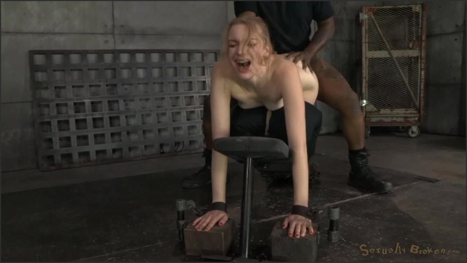 Ela Darling Stunning Ela Darling Tied Face Down Ass Up And Stuffed Full Of Hard Cock