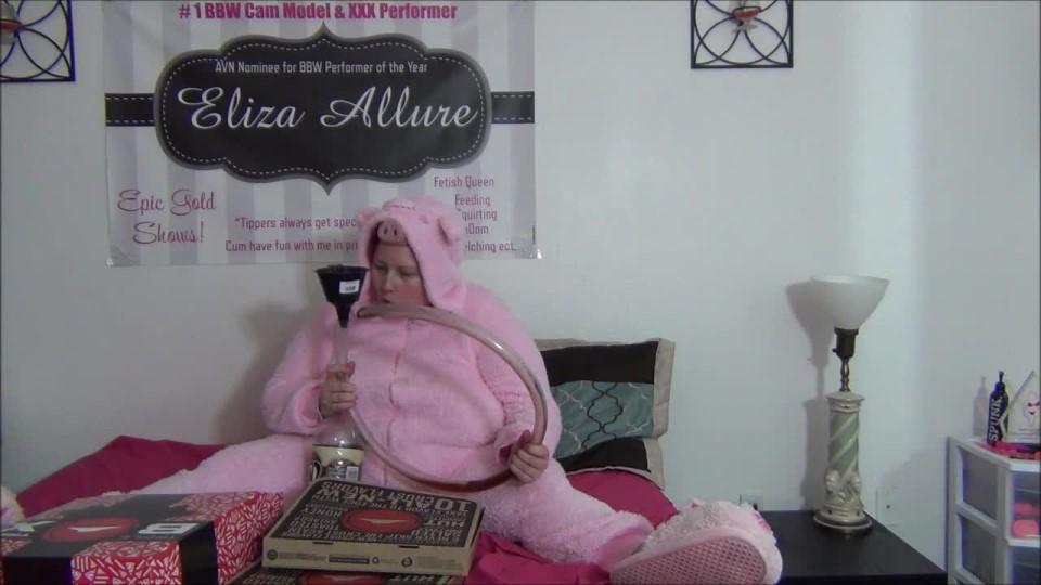 [HD] Elizaallure Piggy Eats Her Treats Elizaallure - ManyVids-00:08:44 | BBW,Gaining Weight,Food Stuffing - 305,2 MB