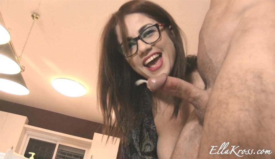 Ella Kross-Ruining His Orgasm Twice