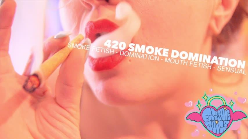 Freshie Juice 420 Smoke Domination And Mouth Fetish