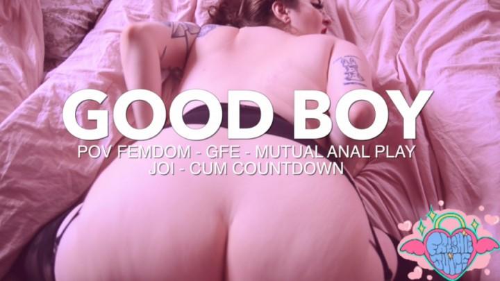 Freshie Juice Good Boy Femdom Pov Anal Play