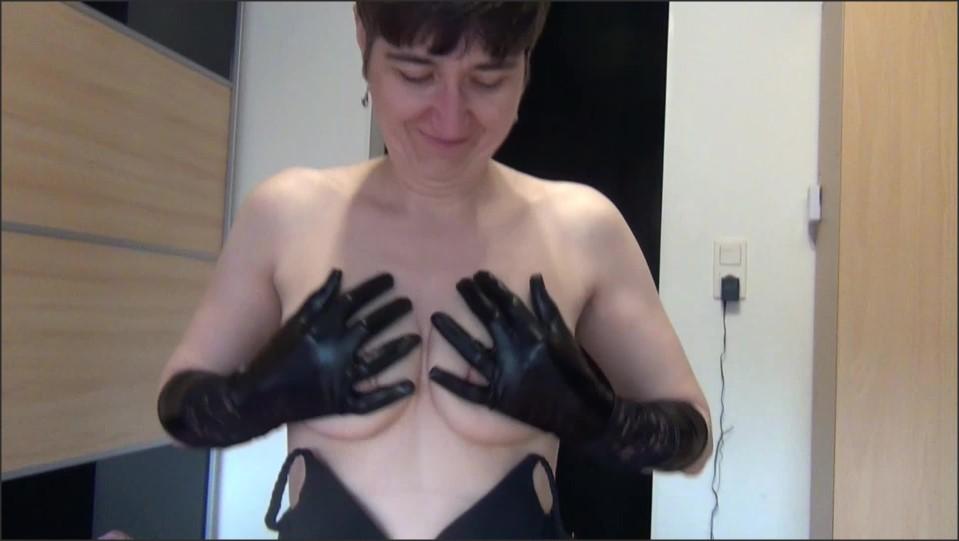 Germanhotmilf Glove Handjob