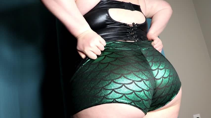Goddesslisa Lux Shiny Emerald Ass