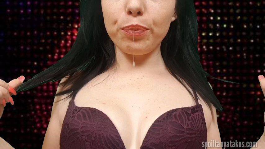 [WQHD] goddesst catch every drop of spit GoddessT - ManyVids-00:05:27 | Spit Fetish,Spitting,Bra Fetish,Leggings,Slave training - 625,8 MB