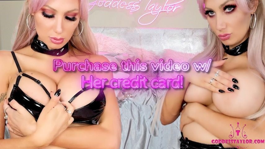 [Full HD] Goddesstaylorknight Buy This Video W Her Credit Card GoddessTaylorKnight - ManyVids-00:13:37 | Femdom,Financial Domination,Home Wrecker,Slave Training,Submissive Task - 1,6 GB