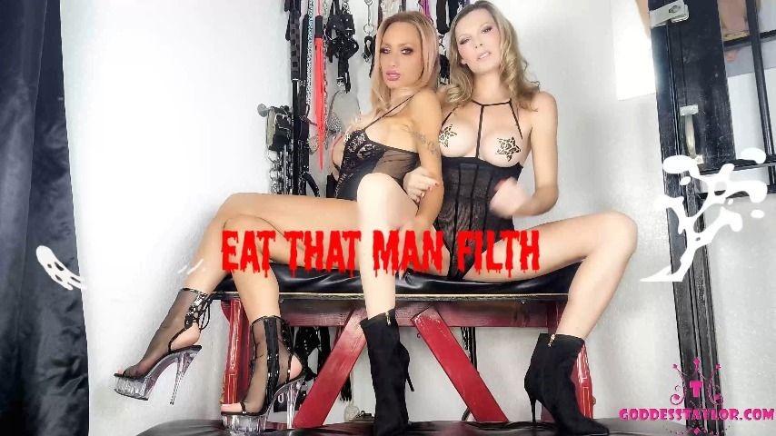 [4K Ultra HD] goddesstaylorknight eat that man filth GoddessTaylorKnight - ManyVids-00:14:03 | Cum Eating Instruction,Jerk Off Instruction,Double Domination,Brat Girls,Femdom - 359,2 MB