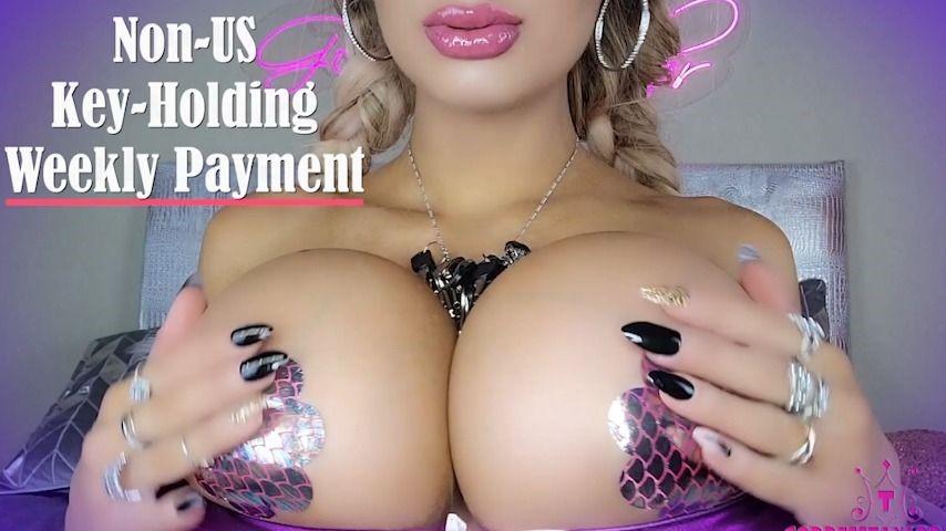 [Full HD] goddesstaylorknight non us key holding weekly payment GoddessTaylorKnight - ManyVids-00:09:40 | Chastity,Chastity Devices,Femdom,Key Holding & Chastity,Tease & Denial - 1,1 GB
