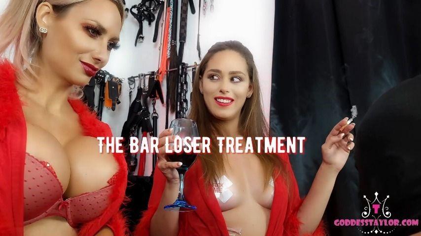 Goddesstaylorknight The Bar Loser Treatment 1080P