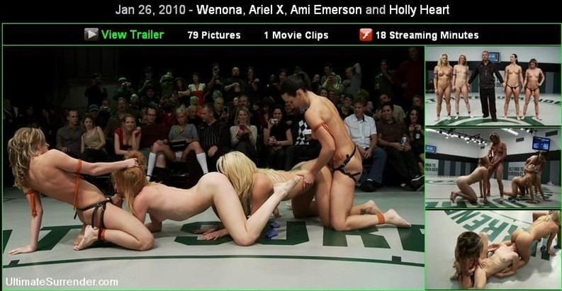 [HD] Jan 26, 2010 Wenona, Ariel X, Ami Emerson And Holly Heart Mix - SiteRip-00:16:43 | Strapon, Girls Fight - 200,5 MB