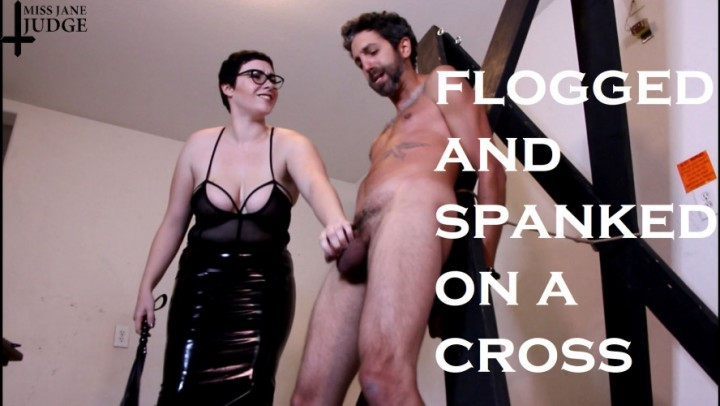 Jane Judge Flogged And Spanked On A Cross