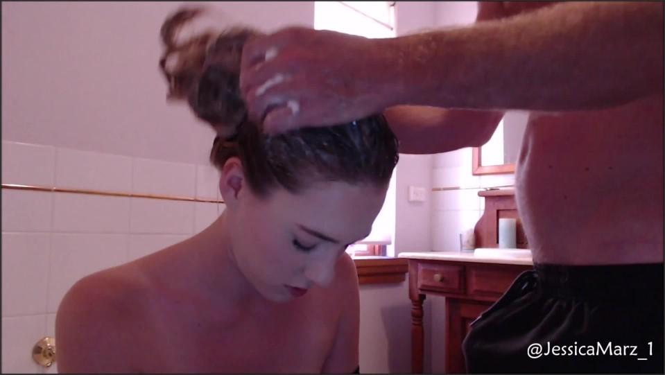 [Full HD] Jessica Marz Hair Wash And Fuck Jessica Marz - ManyVids-00:13:00 | Bathroom Sex, Fucking, Hair, Hair Washing, Long Hair - 371 MB