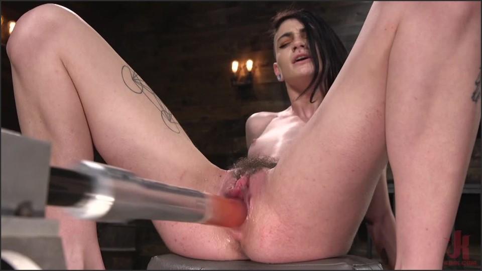 [HD] Lydia Black. Slender Brunette Newcomer Gets Her First Taste Lydia Black - KINK-00:34:04 | Brunette, Straight, Tiny, Fuck Machine - 1,2 GB