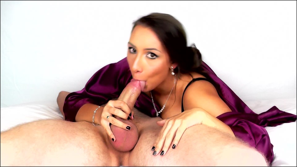 Mariah Leonne Cum In Mouth Sensual Blowjob