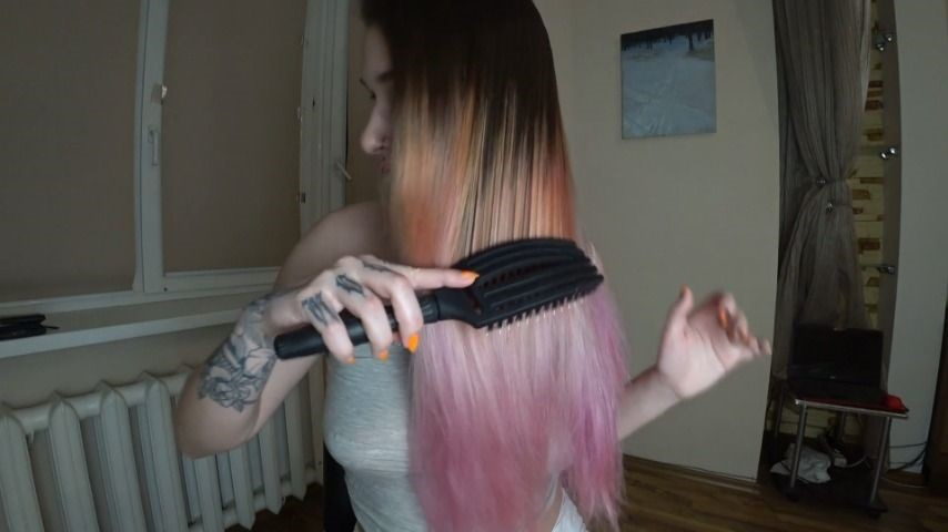 [Full HD] Marysweeeet Brushing My Long Hair 7 MarySweeeet - ManyVids-00:03:03 | Hair,Long Hair,Hair Brush,Hair Color,SFW - 273,2 MB