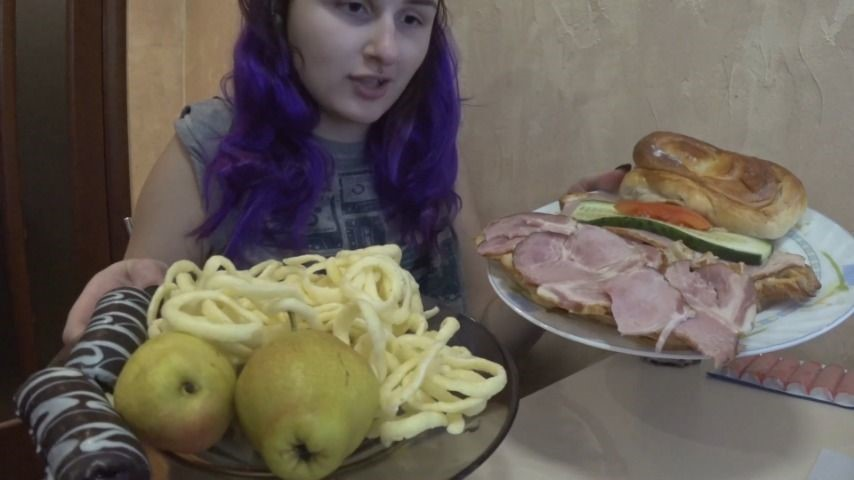 [Full HD] Marysweeeet Sanviches Chips Cookies MarySweeeet - ManyVids-00:27:16 | Facestuffing / Overeating,Eating,Gaining Weight,Food Stuffing,Food,SFW - 1013,4 MB