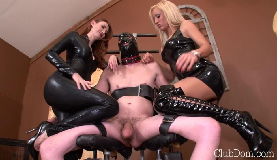 Milking The Helpless Slave
