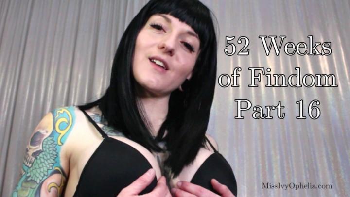 [Full HD] Missivyophelia 52 Weeks Of Findom Part 16 MissIvyOphelia - ManyVids-00:09:48 | Kink,Femdom POV,Masturbation Instruction,Financial Domination,Big Tits - 646,1 MB