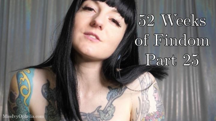 [Full HD] Missivyophelia 52 Weeks Of Findom Part 25 MissIvyOphelia - ManyVids-00:10:48 | Kink,Masturbation Instruction,Financial Domination,Femdom POV,PVC-Vinyl - 721 MB