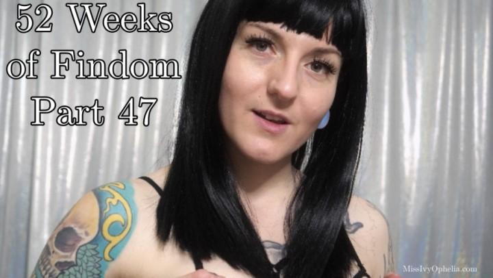[Full HD] Missivyophelia 52 Weeks Of Findom Part 47 MissIvyOphelia - ManyVids-00:10:08 | Financial Domination,Femdom POV,Big Tits,JOI Games,Edging Games - 671,1 MB