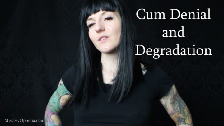 [Full HD] Missivyophelia Cum Denial And Degradation MissIvyOphelia - ManyVids-00:08:52 | Orgasm Denial,JOI,Femdom,Verbal Hardcore Humiliation,Brat Girls - 598,6 MB