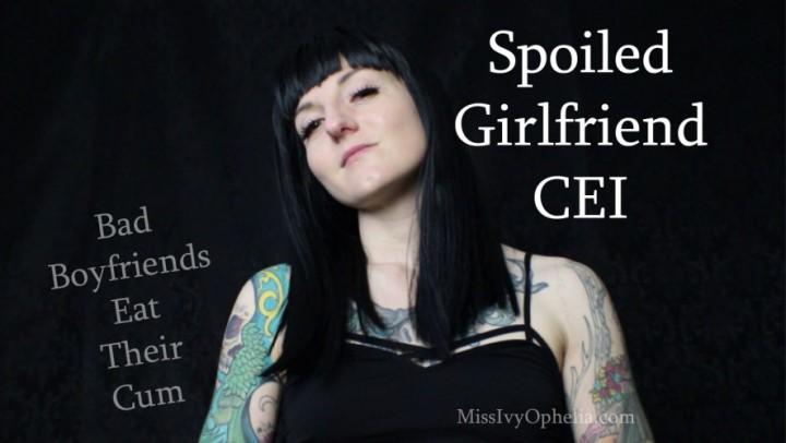 [Full HD] Missivyophelia Spoiled Girlfriend Cei MissIvyOphelia - ManyVids-00:12:53 | CEI,Cum Eating Instruction,Femdom,JOI,Verbal Humiliation - 898,4 MB