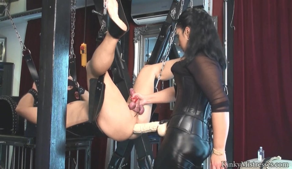 Mistress Ezada -Fucked With The XL Cock On The Swing