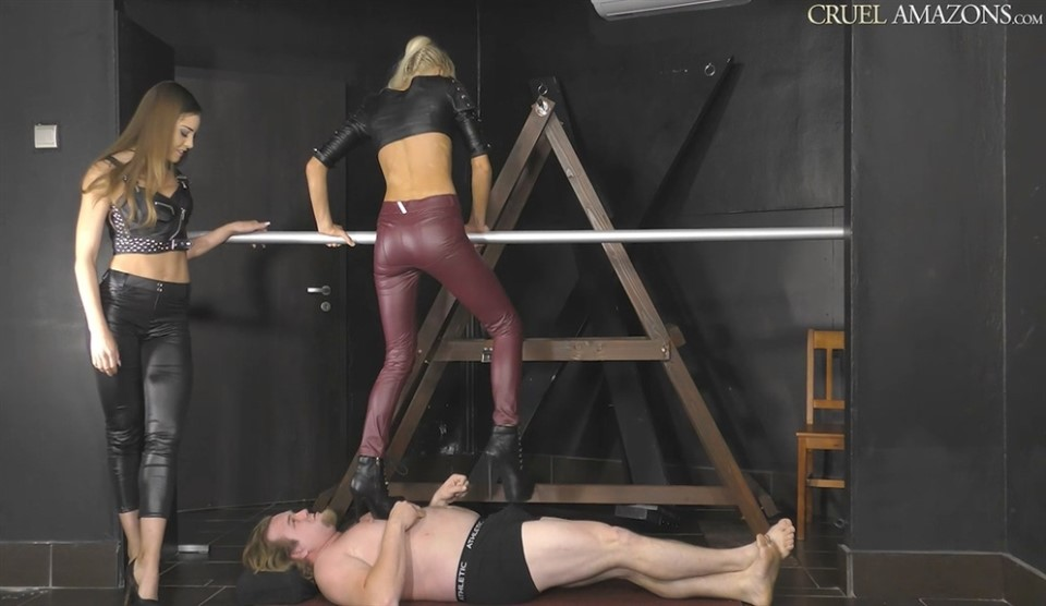 Mistress Lucy & Mistress Ariel. Lucy And Ariel Makes It Worse For The Slave
