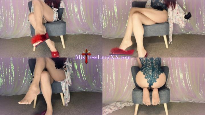 [Full HD] mistresslucyxx at my feet where you belong MistressLucyXX - ManyVids-00:18:00 | Ass Worship,Female Domination,Femdom,Foot Fetish,Goddess Worship - 668,7 MB