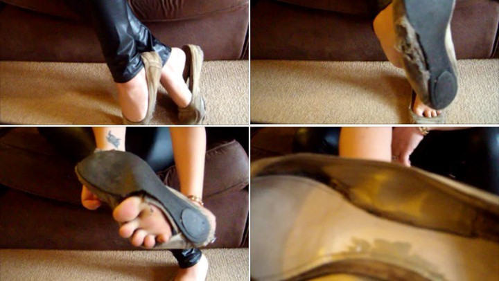 [SD] Mistresslucyxx My Totally Ruined And Abused Stinky Flats MistressLucyXX - ManyVids-00:04:25   Ballet Flats,Dirty Feet,Foot Fetish,Misused Shoes,Shoe Fetish - 31,6 MB
