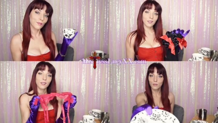 [4K Ultra HD] Mistresslucyxx Sissy Tea Party 4K MistressLucyXX - ManyVids-00:17:37 | Cum Eating Instruction,Humiliation,JOI,Sissification,Sissy Training - 1,2 GB