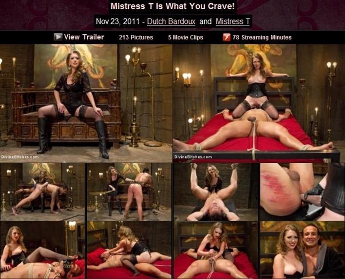 Nov 23 2011 Dutch Bardoux And Mistress T Mistress T Is What You Crave