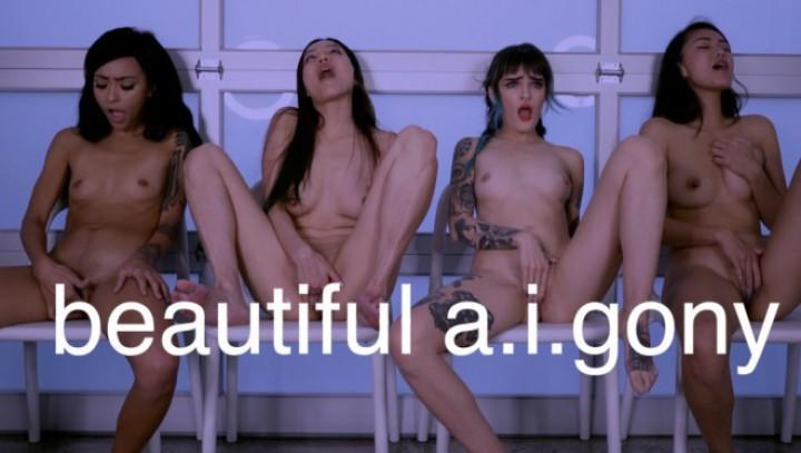 Novapatra 4 Sexy Humanoids Masturbate And Cum