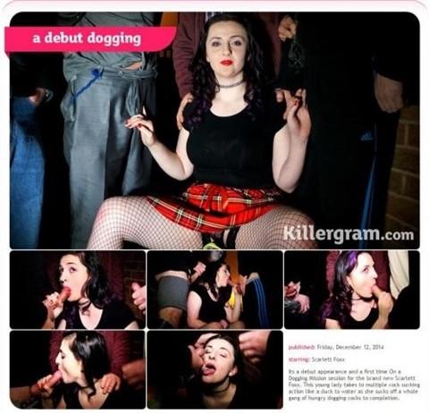 [HD] Scarlett Foxx. A Debut Dogging Scarlett Foxx - SiteRip-00:21:51 | Cum In Mouth, Bukkake, Brunette, Cum On Face, Outdoors, Blowgangbang - 645,9 MB