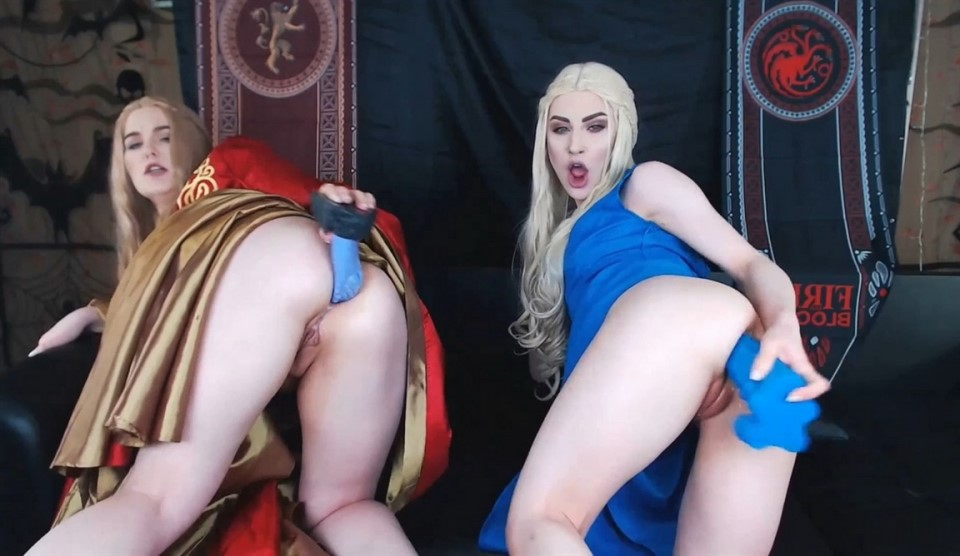 XandriaGoddess Daenerys And Cersei Filling Up All Holes
